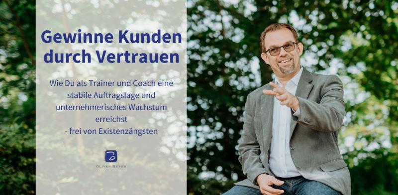 """Coverbild für die Facebook-Gruppe """"Gewinne Kunden durch Vertrauen"""""""